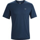 Arc'teryx Accelero Comp Shortsleeve Shirt Men blue
